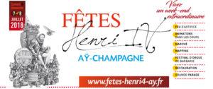 Fêtes Henri 4 - Les 7 et 8 juillet 2018 @ Aÿ-Champagne | Ay | Grand Est | France