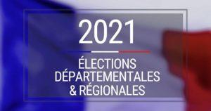 Inscriptions aux élections départementales et régionales - 14 Mai 2021